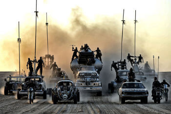 Mad Max Cars of the War Boys