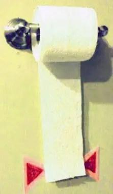 Χαρτί τουαλέτας με μέτρο