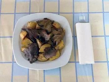 Μανιτάρια με πατάτες στο φούρνο
