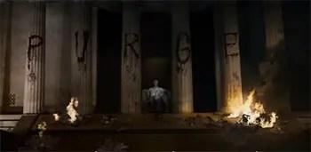 Purge 3 Lincoln statue