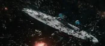 Star Trek Beyond 2016 swarm attacks Enterprise