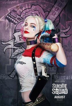 Suicide Squad 2016 poster harley quinn