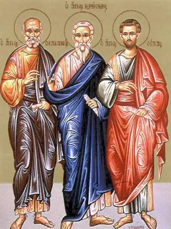 Άγιοι Σίλας, Σιλουανός και Κρήσκης