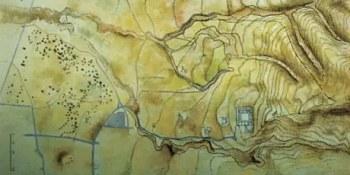Τοπογραφικό του αρχαίου χώρου