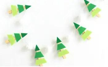 Χριστουγεννιάτικη γιρλάντα με έλατα