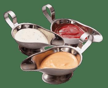 σπιτική μουστάρδα μαγιονέζα κέτσαπ