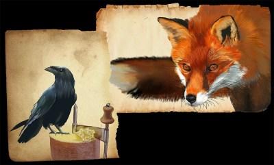 fox crow 1562064527 - Ο Κόρακας και η Αλεπού