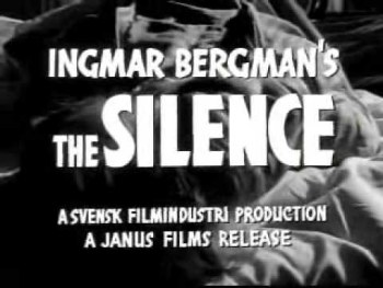Η σιωπή – Tystnaden – The Silence – 1963