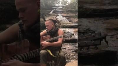 dan samways aka nomadic jurassic - Dan Samways aka Nomadic Jurassic @ the Blue Waterfall