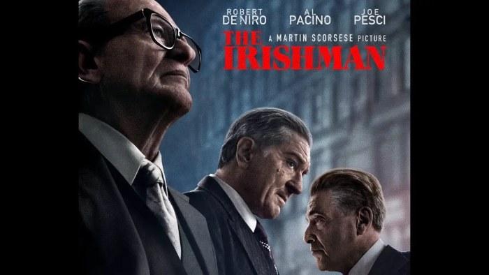 Ο Ιρλανδός – The Irishman – 2019 Trailer (greek subs)