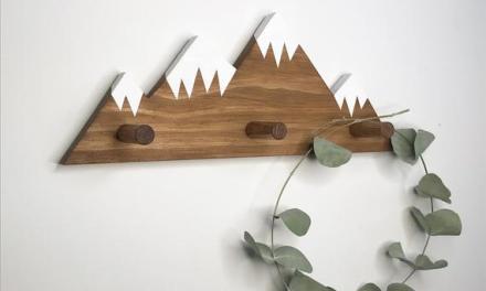 Mountain Peak Wall Hooks