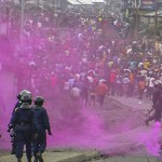 Kinshasa, Police anti-emeute