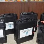 Le premier lot de huit kits de la machine à voter est arrivé mardi 9