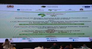Forum Africain des Managers Territoriaux : Le Maroc reçoit la deuxième édition mercredi 25 avril 2018