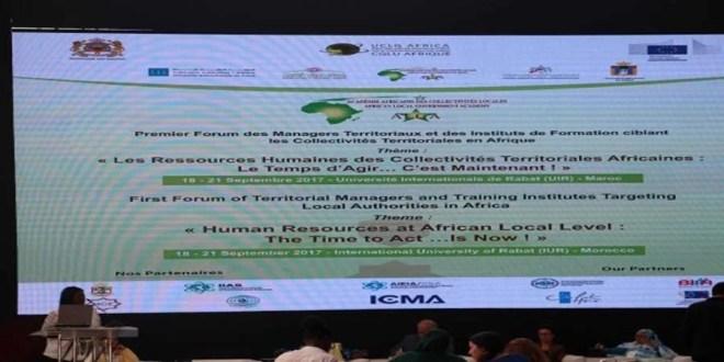 Forum Africain des Managers Territoriaux