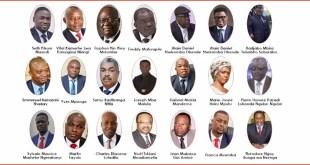 liste candidats - présidentielle en RDC