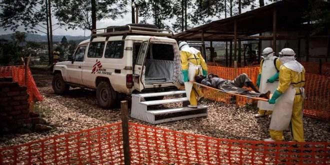 Centre de traitement d'Ebola dans la zone de Butembo en RDC