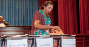RDC: Jeanine Mabunda élue présidente du bureau définitif de l'Assemblée nationale