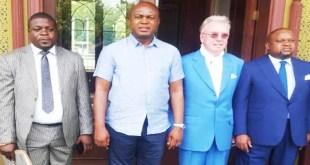 Kinshasa: Gentiny Ngobila rencontre des partenaires en Europe