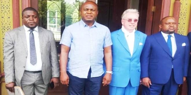Kinshasa Gentiny Ngobila rencontre des partenaires en Europe