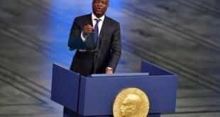 Premier biennal de paix de Luanda : Dr. Mukwege plaide pour la fin de culture de corruption et d'impunité
