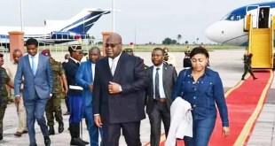 RDC : Félix Tshisekedi a enfin regagné Kinshasa après sa tournée euro-américaine
