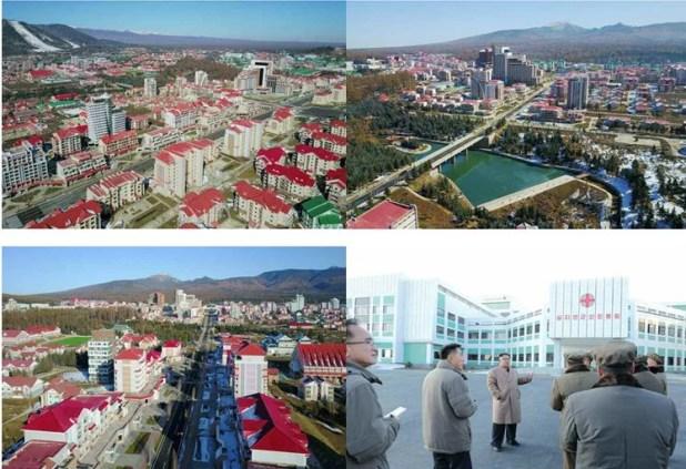 chantiers de construction de l'Arrondissement Samji-yon 4