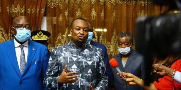 Eteni Longondo, Muyembe et Gilbert