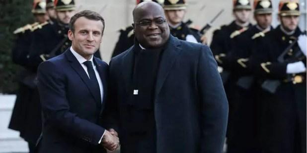 Macron et Tshisekedi