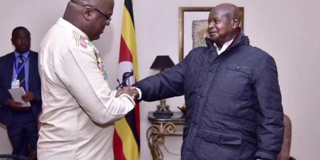 Tshisekedi et Museveni