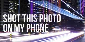 Long exposure photography on phone