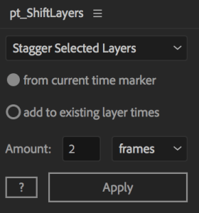 Shiftlayers timeslice plugin