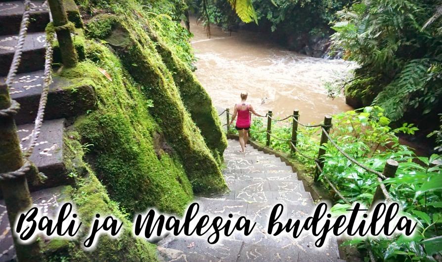 Bali ja Malesia matkabudjetti