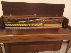 1972 piano  over 1/2 step flat