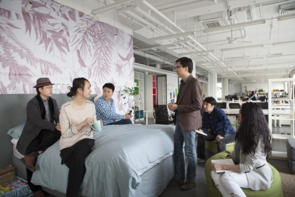 图2_SMART联合办公空间中植入的卧室