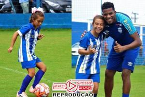 Time masculino contrata menina pra jogar futebol no sub-10 82