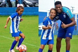 Time masculino contrata menina pra jogar futebol no sub-10 83