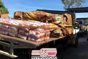 Brasil manda caminhão com comida e remédios para a Venezuela 82