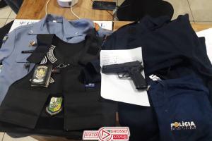 Preso ex-policial militar acusado de receptar mercadorias e material de construção furtados no município de Alta Floresta 74