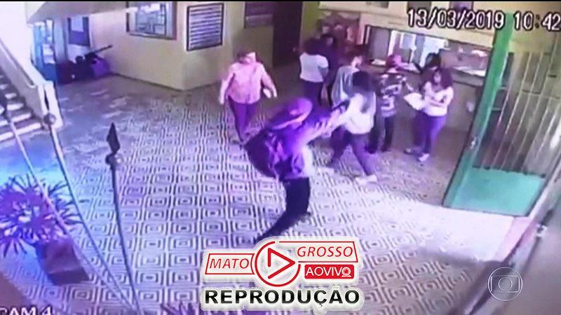 Adolescente de Alta Floresta vai parar na delegacia após fazer ameaças de ataque a alunos da escola 58