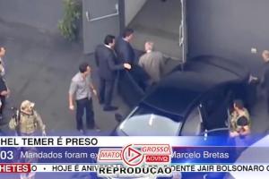 Acaba de ser preso também Polícia Federal o ex-ministro Moreira Franco e será encaminhado para o Rio de Janeiro com Temer 71