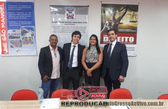 Delegados Carlos Francisco e Ana Paula