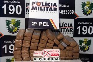 Polícia Militar apreende 57 tabletes de maconha em residência na zona urbana de Nova Canaã 71