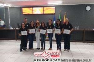 Investigadoras da Polícia Civil de Alta Floresta são homenageadas na Câmara Municipal com Moção de Congratulações 85