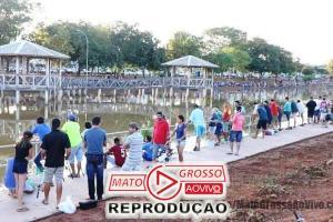 Pescaria no Lago dos Pioneiros promovida pela prefeitura de Colíder vira piada na internet e provoca críticas dos participantes 65