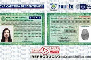 Mato Grosso já está emitindo novo modelo da Carteira de Identidade desde o último dia 3 de Abril 68