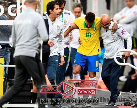 Neymar fora da Copa América