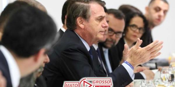 Presidente Jair Bolsonaro diz que não haverá criação de novos impostos, muito menos a volta da CPMF 22