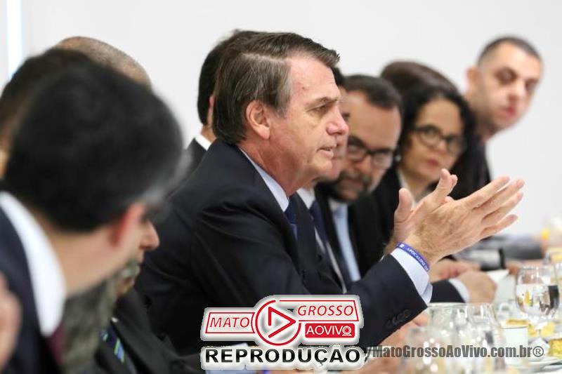 Presidente Jair Bolsonaro diz que não haverá criação de novos impostos, muito menos a volta da CPMF 65
