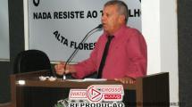 Vereador de Alta Floresta propõe alternativas a prefeitura para solucionar a questão da poeira e trânsito no município 90